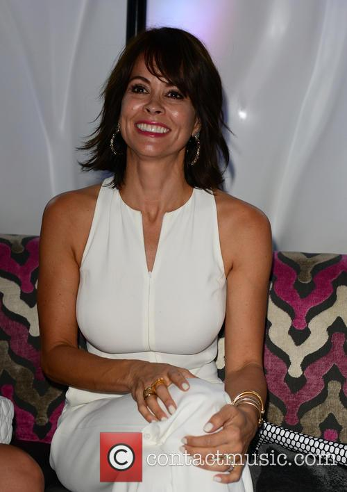 Brooke Burke hosts a White Party