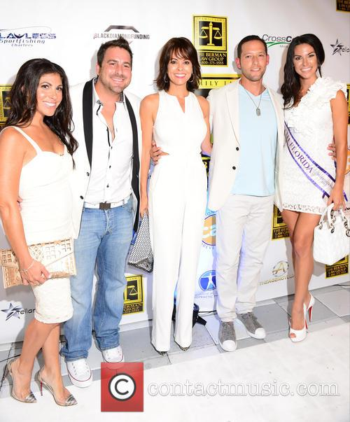 Guest, Evan Golden, Brooke Burke, Russell Berman and Lindsy Berman 1