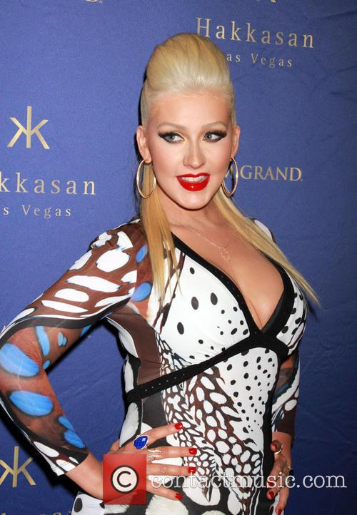 Christina Aguilera hosts the 2nd Year Anniversary of...