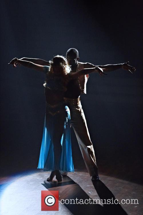 Kathrin Menzinger and Hans Sarpei 3