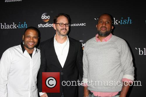 Anthony Anderson, Jonathan Goff and Kenya Barris 5