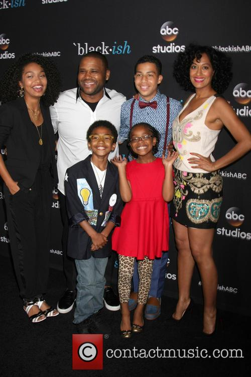 (clockwise From Top Left) Yara Shahidi, Anthony Anderson, Marcus Scribner, Tracee Ellis Ross, Marsai Martin and Miles Brown 1