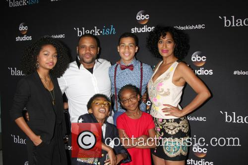 (clockwise From Top Left) Yara Shahidi, Anthony Anderson, Marcus Scribner, Tracee Ellis Ross, Marsai Martin and Miles Brown 2