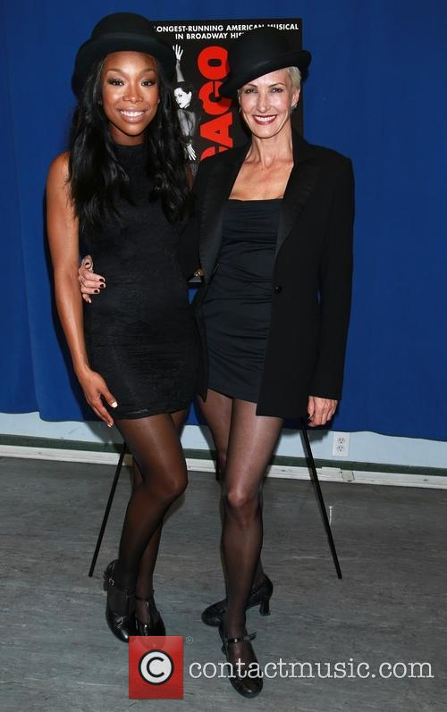 Brandy Norwood and Amra-faye Wright 4