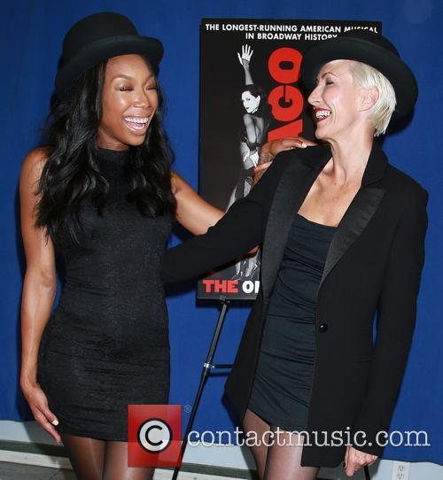 Brandy Norwood and Amra-faye Wright 6