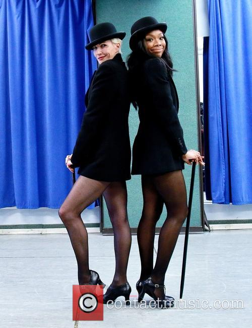 Amra-faye Wright and Brandy Norwood 1