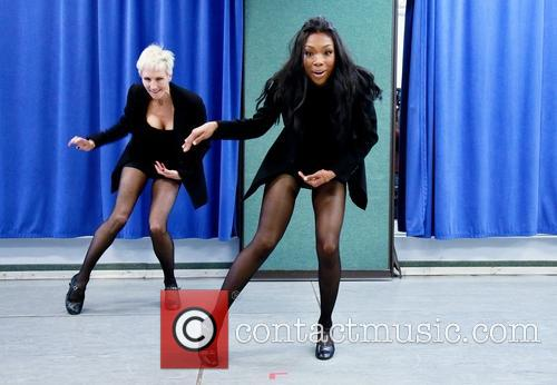 Amra-faye Wright and Brandy Norwood 6