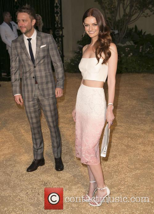 Chris Hardwick and Lydia Hearst 10