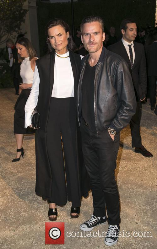 Rosetta Millington and Balthazar Getty 1