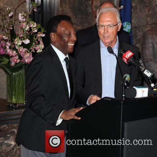 Pelé and Franz Beckenbauer 2