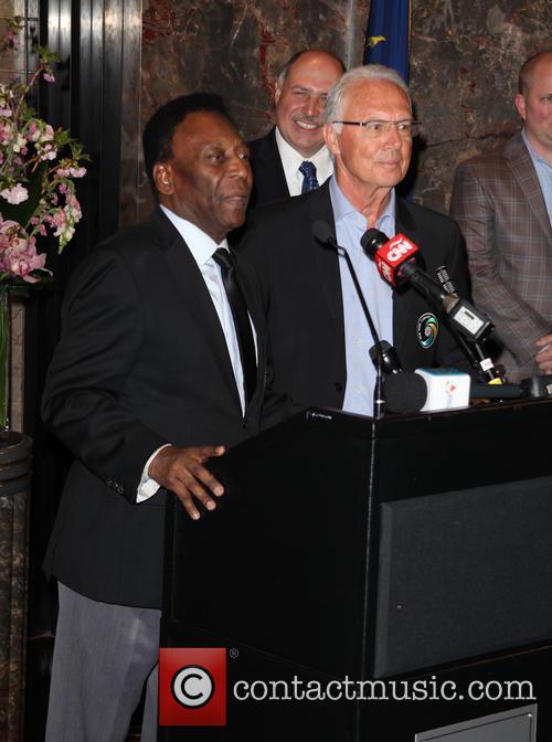 Pelé and Franz Beckenbauer 3
