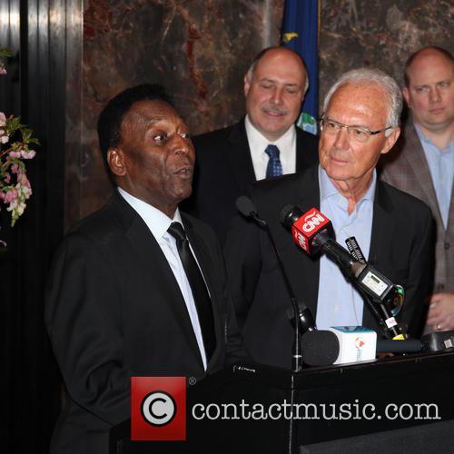 Pelé and Franz Beckenbauer 6