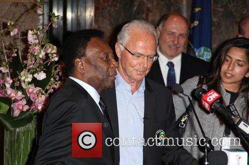 Pelé and Franz Beckenbauer 11