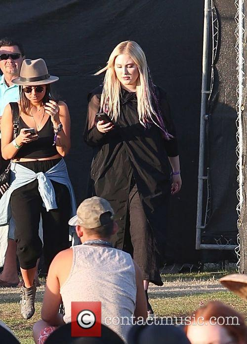 Hayley Hasselhoff spotted at Coachella 2015 - Week...