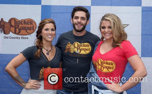 Cassadee Pope, Thomas Rhett and Lauren Alaina