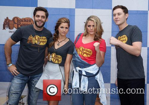 Cassadee Pope, Thomas Rhett, Lauren Alaina and Scotty Mccreery 4