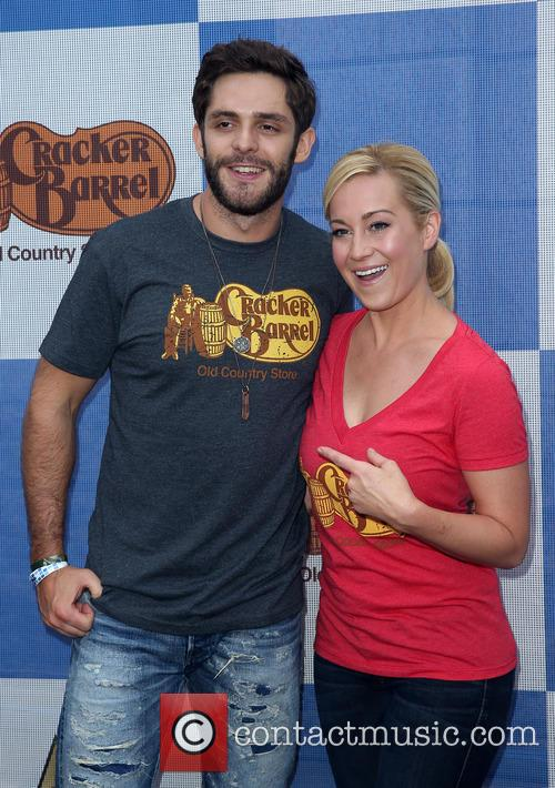 Thomas Rhett and Kellie Pickler 3