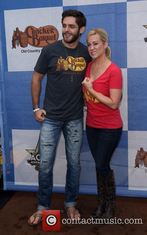 Thomas Rhett and Kellie Pickler 4