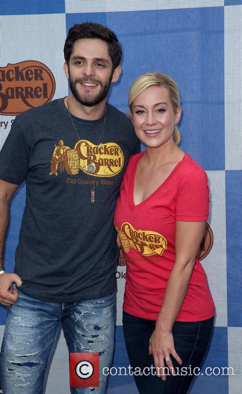 Thomas Rhett and Kellie Pickler 6