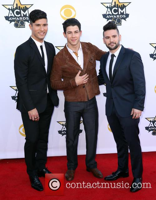 Dan + Shay and Nick Jonas 1