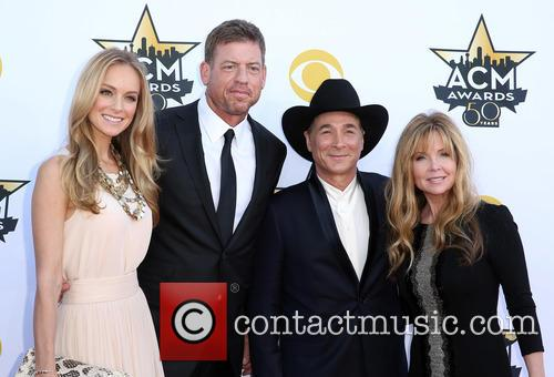 Troy Aikman, Clint Black and Lisa Hartmand Black 2