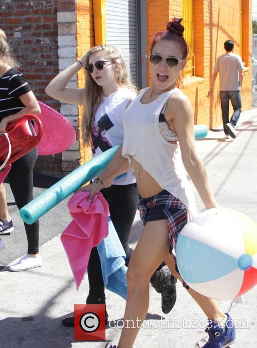 Willow Shields and Sharna Burgess 2