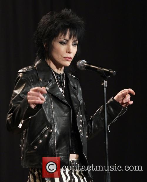 Joan Jett at Rock and Roll Hall of Fame induction