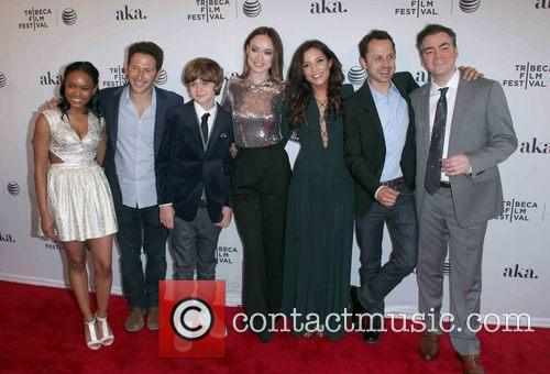 Casts From (l To R), Eden Ducan-smith, Mark Feurstein, Ty Simpkins, Olivia Wilde, Reed Morano, Giovanni Ribisi and Kevin Corrigan 2
