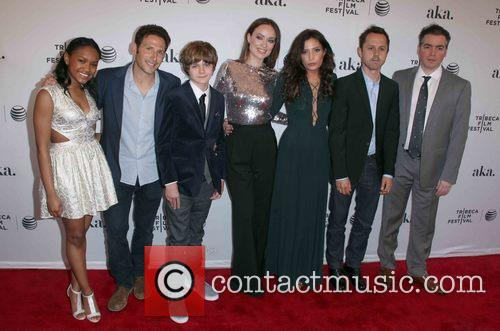 Casts From (l To R), Eden Ducan-smith, Mark Feurstein, Ty Simpkins, Olivia Wilde, Reed Morano, Giovanni Ribisi and Kevin Corrigan 1