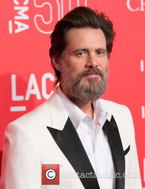 Jim Carrey at the LACMA 50th Anniversary gala in 2015