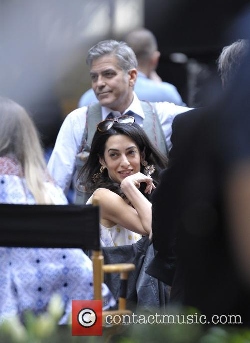 Amal Clooney and George Clooney 4