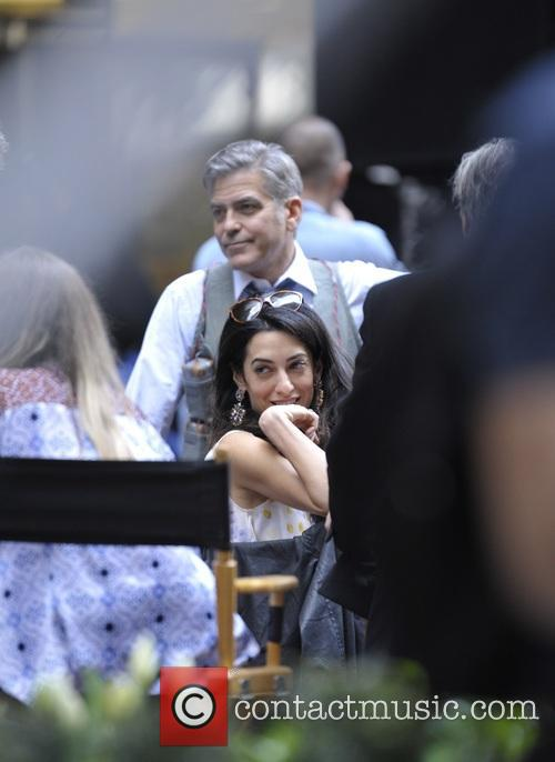 Amal Clooney and George Clooney 5