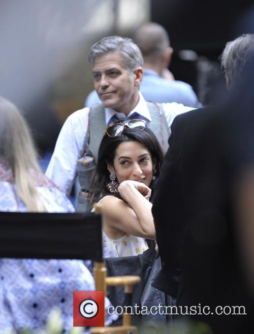 Amal Clooney and George Clooney 6
