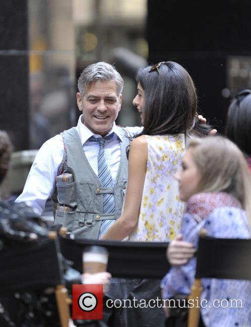Amal Clooney and George Clooney 7