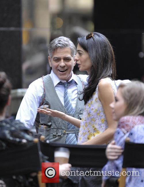 Amal Clooney and George Clooney 10