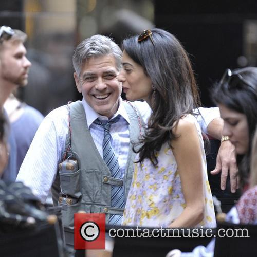 Amal Clooney and George Clooney 11