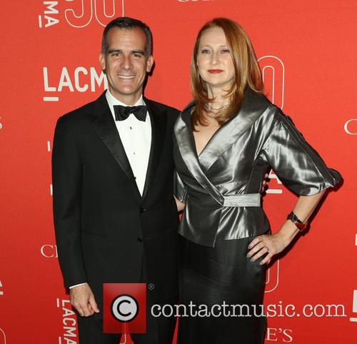Eric Garcetti and Amy Wakeland 2