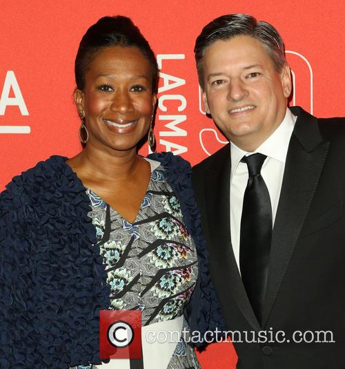 Avant and Ted Sarandos 3