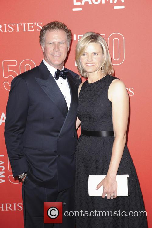 Viveca Paulin and Will Ferrell 4