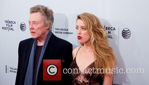 Christopher Walken and Amber Heard 10