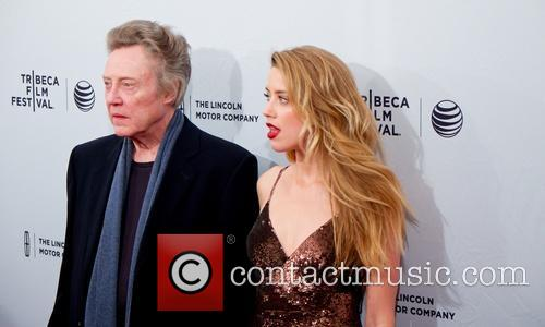 Christopher Walken and Amber Heard 1