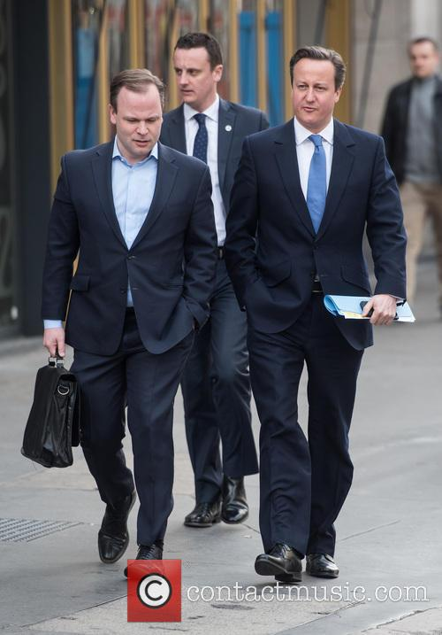 David Cameron and Craig Oliver 2