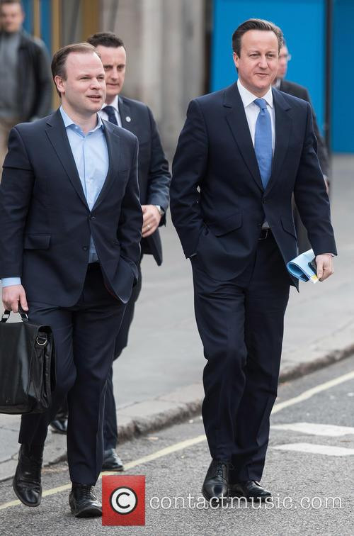 David Cameron and Craig Oliver 3