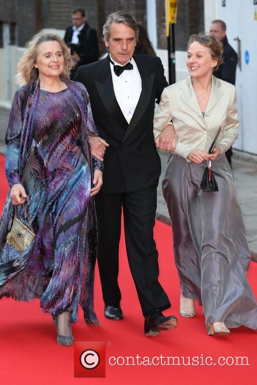 Sinead Cusack, Jeremy Irons and Niamh Cusack