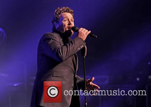 Michael Ball performs live in concert