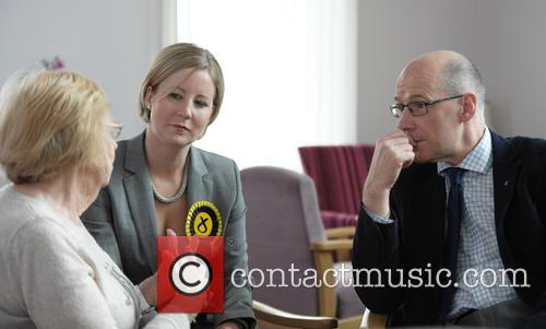 Hannah Bardell and John Swinney 2