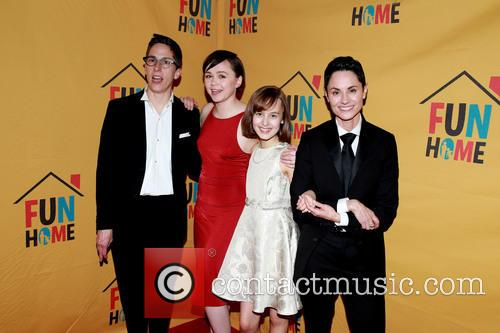 Alison Bechdel, Emily Skeggs, Sydney Lucas and Beth Malone 9