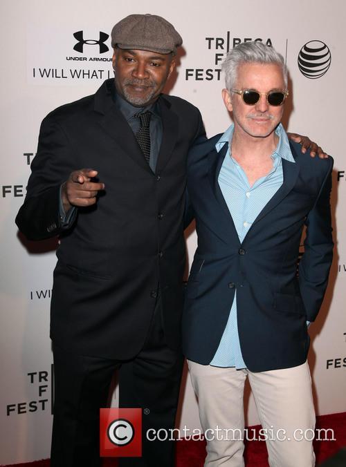 Nelson George and Baz Luhrmann 2