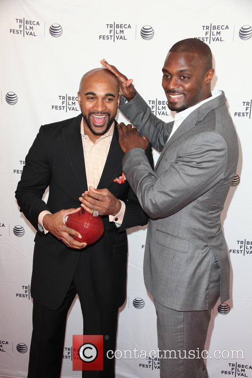 David Tyree and Plaxico Burress 5