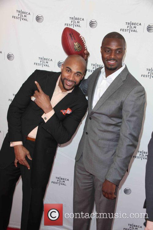 David Tyree and Plaxico Burress 6